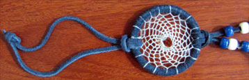 Dream Catcher with beads