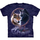 Dream Catcher Wolf T-Shirt